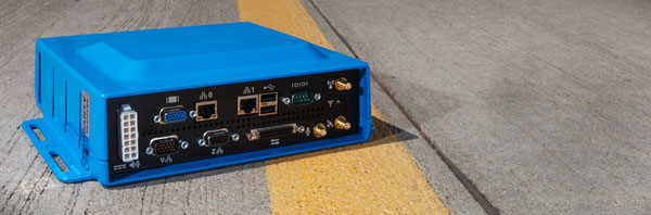Road Safety blue box prevents accidents